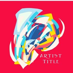 Artist cover 专辑封面 template
