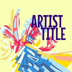 Artist cover Okładka albumu template
