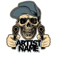 Artist Logo Gang Rap template