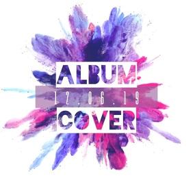 Cd album cover design template