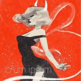 Artistic Album cover design