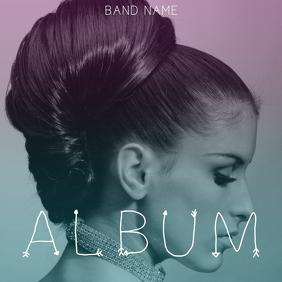 Artistic Album Cover Template