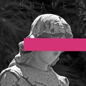 Artistic album cover shame