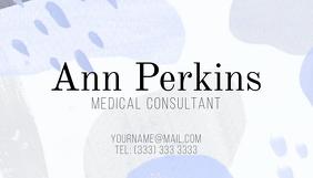 Artistic Business card 2 template