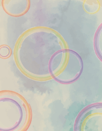 Artistic Circles Background