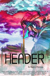 artistic fairytale Book Cover Movie Film Template
