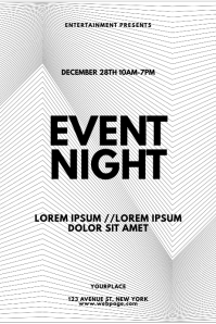 Artistic Illusion Event Flyer Design Template
