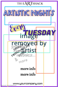Artistic Night Poster Template