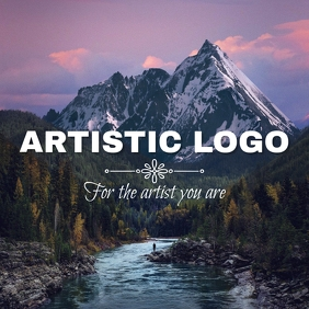 artistic photo logo