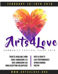 Arts 4 love Festival
