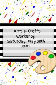 Arts & Crafts Flyer