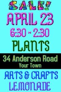 Arts CRAFTS plants Yard Sale