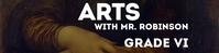 Arts Google Classroom Banner template
