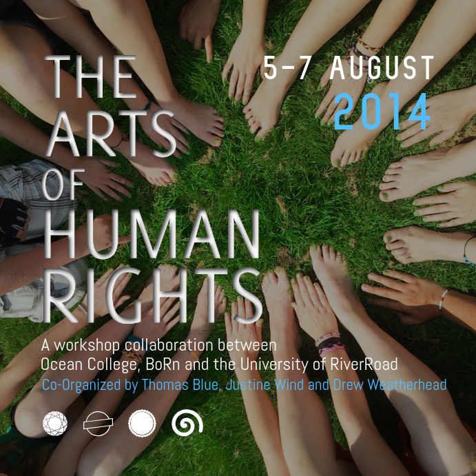 Arts of Human Rights Instagram Image template