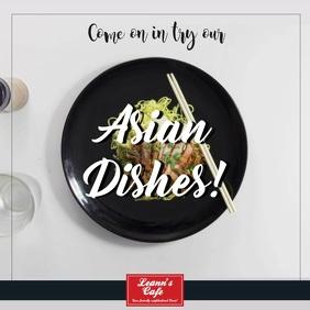 Asian Cuisine Restaurant Video Template