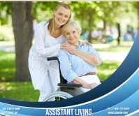 Assistant Living Large Rectangle template