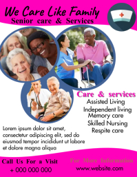 Assisted living Flyer (US Letter) template