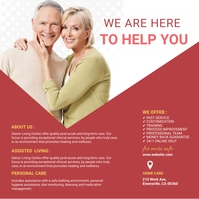 Assisted Living Instagram Image template