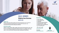 Assisted Living Video Facebook-omslagvideo (16: 9) template