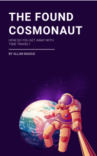 Astronaut in Outer Space Book Cover Template