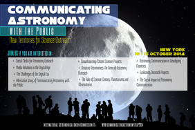 Astronomy Event Poster