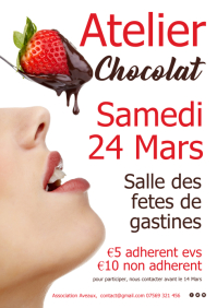 Atelier Chocolate affiche