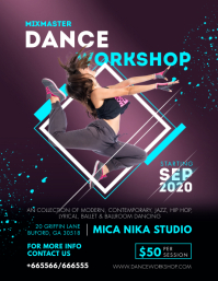 Atheletic Dance Classes Advanced Workshop Fly