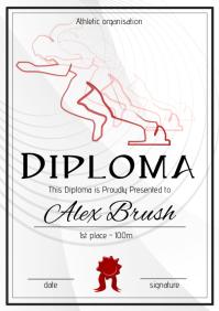 athletic diploma 100m