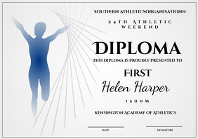 Athletic Diploma 1500m