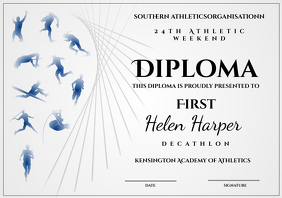 athletic diploma decathlon