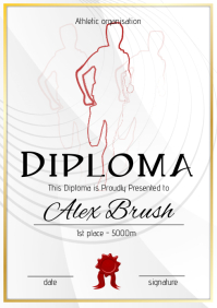 athletic diploma