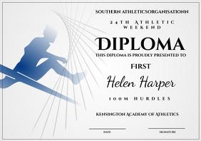 Athletic diploma hurdles