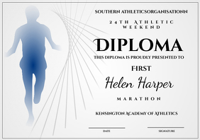 athletic diploma marathon