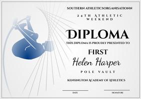 athletic diploma pole vault
