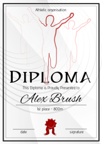 athletic diploma