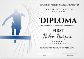 athletic diploma steeplechase