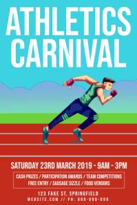 Athletics Carnival Poster