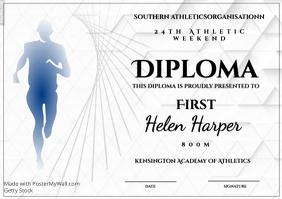 athletics diploma 800m