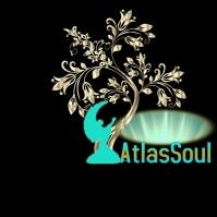 Atlas Soul Art Logo template
