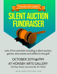 Auction Fundraiser Flyer
