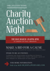 Auction Night Flyer