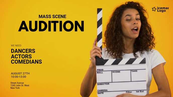 Audition Digital Display Ad Template