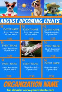 August Calendar - Dog Days