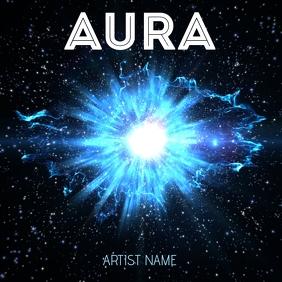 Aura ALBUM ART template