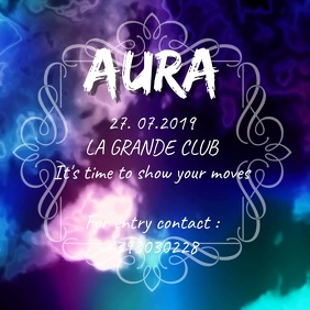 Aura PARTY NIGHT VIDEO Ad