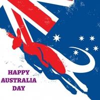 AUSTRALIA DAY,Australia Day Instagram-bericht template
