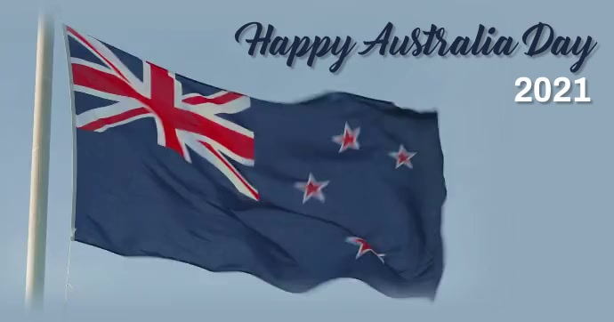 Australia day,happy australia day delt Facebook-billede template