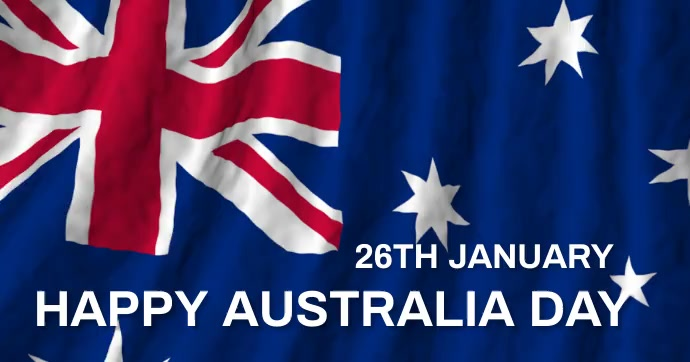 Australia day,happy australia day delt Facebook-billede template
