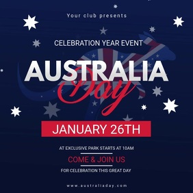 Australia Day Celebration Video Invite
