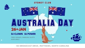 Australia Day Children's Event Video Banner